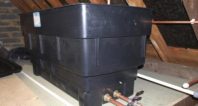conventional boiler tank