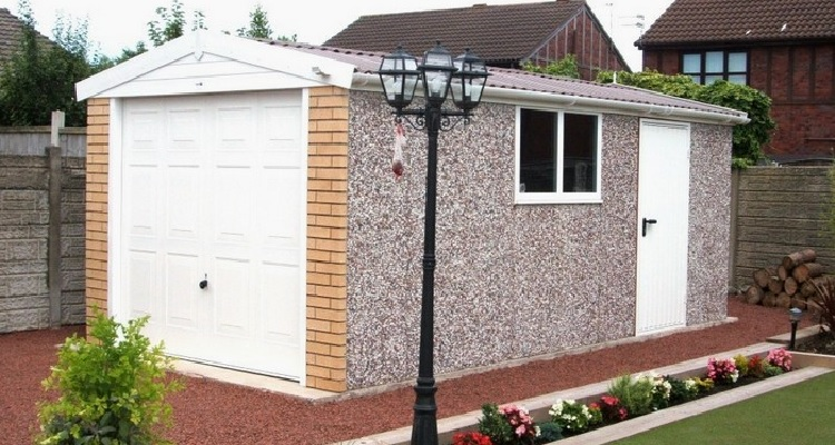 How Much To Build A Garage, How Much Does A Prefab Garage Cost Uk