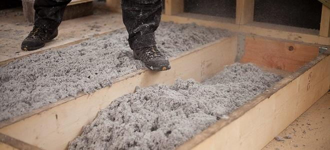 loosefill loft insulation