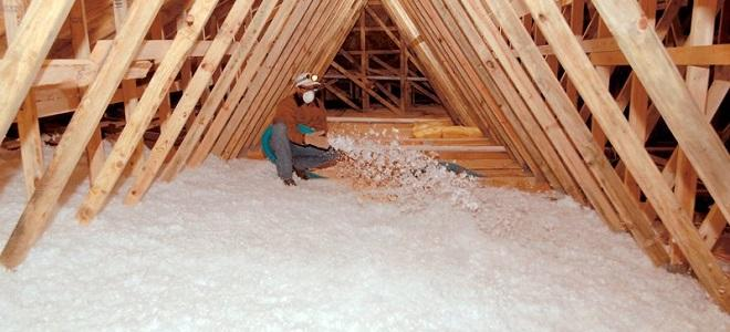 spray loft insulation