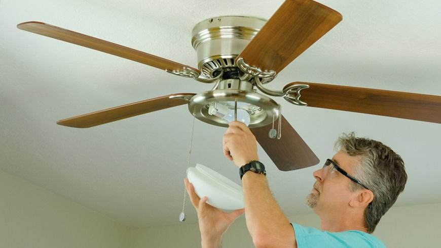 The installation cost of a ceiling fan ceiling fan aloadofball Gallery