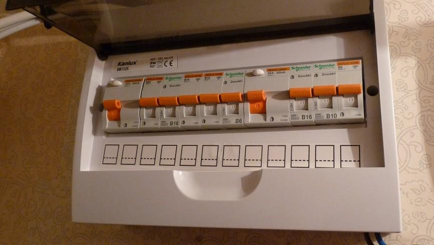 The cost to replace a fuse box