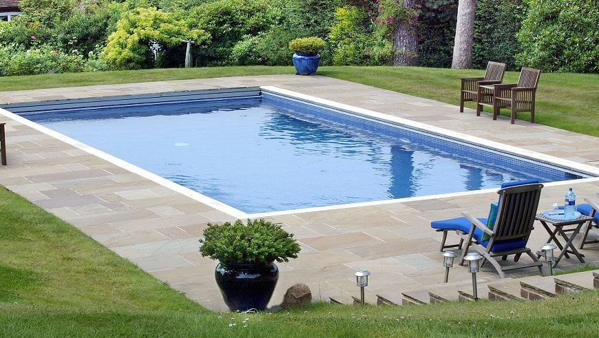 the installation cost of a garden swimming pool