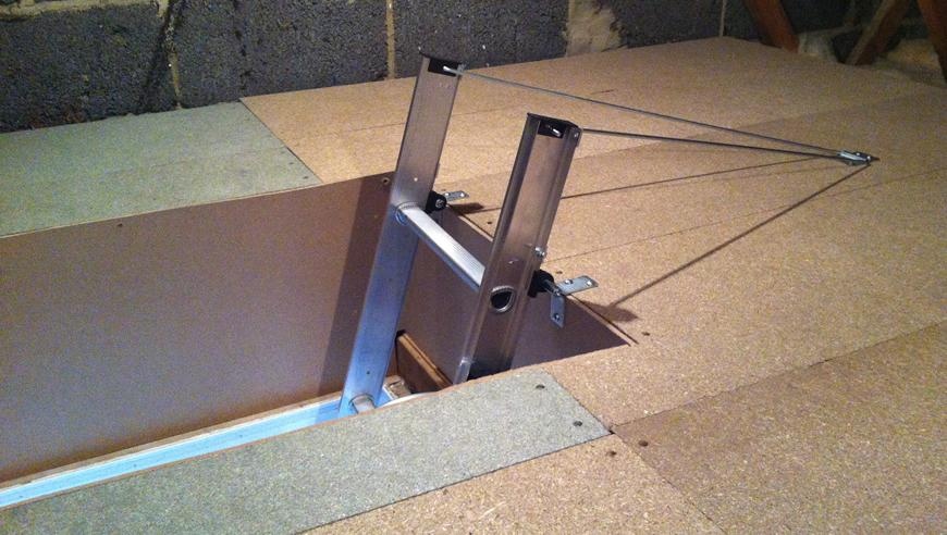 Install A Loft Ladder Amp Hatch Labour Amp Material Costs