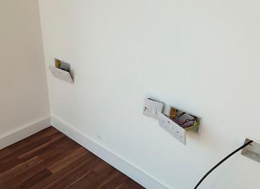 move a light switch or socket