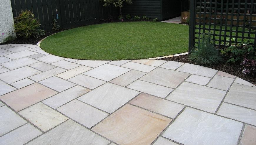 The Cost To Supply Lay A Patio - Cost to lay outdoor tiles