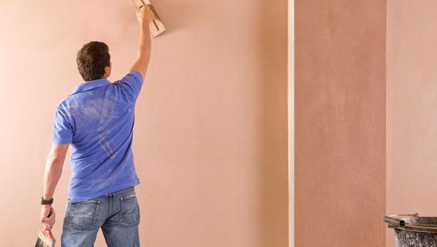 plastering skimming a wall labour material costs. Black Bedroom Furniture Sets. Home Design Ideas