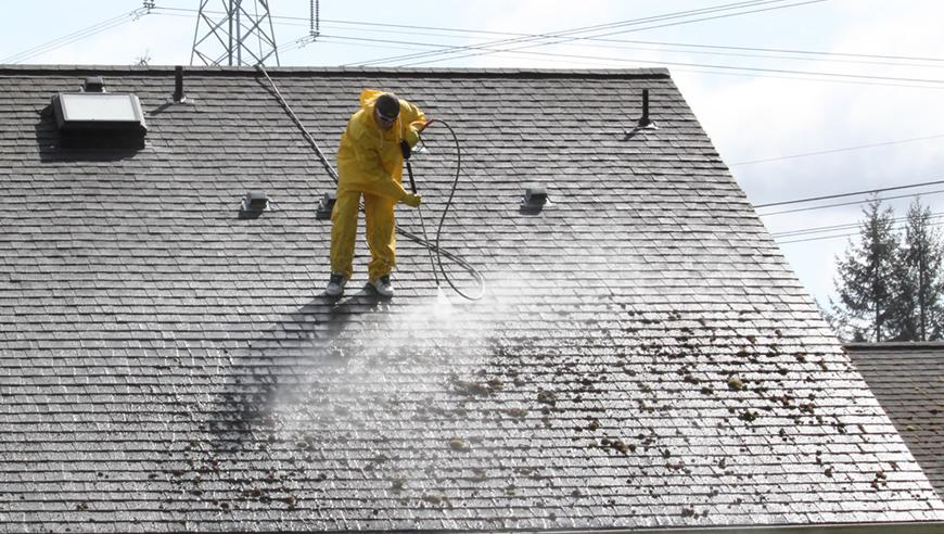 Pressure Washing Roof Clean Labour Amp Material Costs