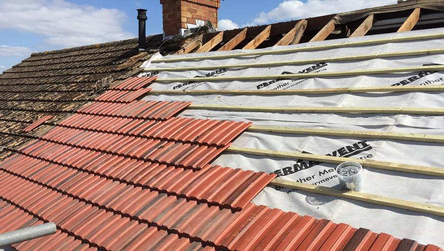 Replacing a roof labour material costs for Most expensive roof material