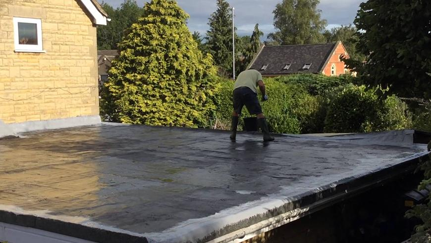 replacing a flat roof