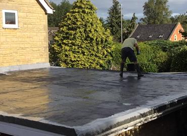 replace flat roof