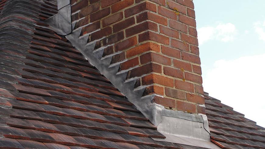 Replacing Leadwork on a Chimney - Labour & Material Costs