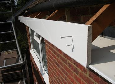 replace soffits & fascias
